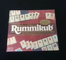 1997 Deluxe Edition Rummikub Game Pressman Toy Factory Sealed VTG NOS New Rare!!