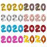 Cadeau Helium ballon Digital ballon Feuille d 'aluminium Chiffres pour 2020