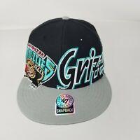 Vancouver Grizzlies NBA 47 Brand Cap Hat Adjustable Snapback Hardwood Classics