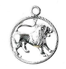 Argento Sterling Zodiac Leo Ciondolo/Charm
