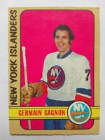 1972-73 OPC O-Pee-Chee #200 Germain Gagnon New York Islanders - VG
