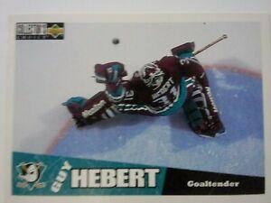 1996-97 Upper Deck Collector's Choice #5 Guy Hebert Anaheim Ducks