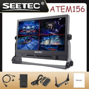 SEETEC ATEM156 15.6 Inch Live Streaming Broadcast Director Monitor Video Monitor