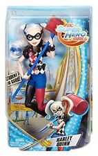 """DC Super Hero Girls Harley Quinn Action Doll 12/"""" Malley Launcher New in Box"""