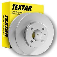 TEXTAR Bremsscheiben 92076603 BMW 5er  E39 HINTEN 298mm voll