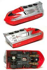 1989 TYCO 440-X2 SANTA FE TURBO TRAIN HO Slot Car FRONT ENGINE UNIT 7438 V.Fast!