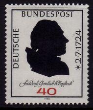 W Allemagne 1974 friedrich gottlieb SG 1705 neuf sans charnière