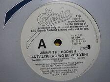 "Jimmy The Hoover ""Tantalise"" Rare WHITE PROMO Oz 7"""