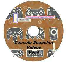 2,790 Console Emulator Snapshot Videos Vol.4 For MAME Frontend 480p 3xDVD's