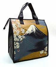 INSULATED LUNCH BAG ~ MT FUJI MEDIUM LUNCH TOTE ECO HOT COLD BAG ~ NEW