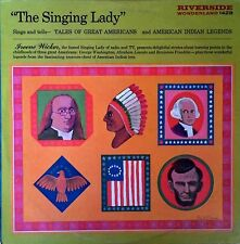IREENE WICKER - THE SINGING LADY - RIVERSIDE WONDERLAND LP