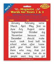 Fridge Magic Magnetic Words Set for Years 1 and 2 / Literacy Strategy words m2