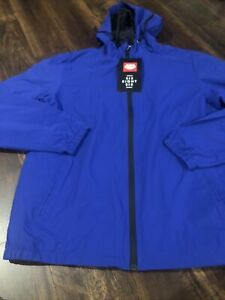 New 686 Unix Mens Ski Snowboard Jacket Shell Size Large Blue Black