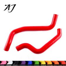 For Mitsubishi 3000GT Dodge Stealth 1991-1999 Silicone Radiator Hose Red