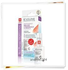 EVELINE Professional Nail Therapy Conditioners  WHITENING AND SMOOTHENING NAILS