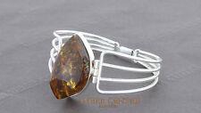 Bangle Baltic Amber Modern Elegant Handmade 925 solid silver - BAN004 RRP£295!!!