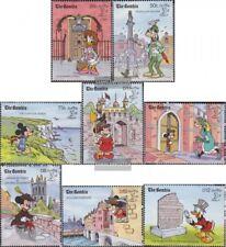 Gambia 1050-1057 (compleet.Kwestie.) postfris MNH 1990 Walt-Disney-Cijfers in En