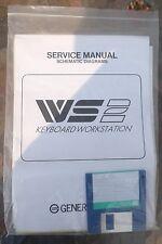 GeneralMusic WS 2 Piano Keyboard workstation Service Manual Schematic Diagrams