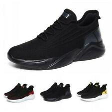 Men's Sneakers Running Walking Breathable Sports Athletic Shoes Black US9.5