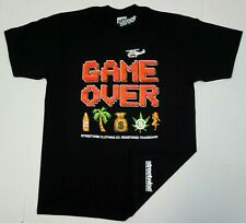 STREETWISE GAME OVER T-shirt Urban Streetwear Adult Men's Tee Black New