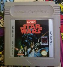 Rare -Original Release- Star Wars Capcom (Nintendo Game Boy) Amazing Gameplay