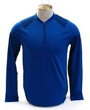 Under Armour Ua Mk-1 Blue 1/4 Zip Long Sleeve Shirt Men's Nwt
