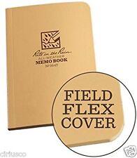 """Rite in the Rain"" All-Weather Coyote Tan 3.5""x5"" Field Flex Memo Notebook"