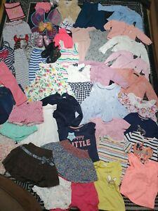 #934 Huge Bundle Of Baby Girl Clothes 18-24months GEORGE NEXT H&M M&S RALPH PRIM