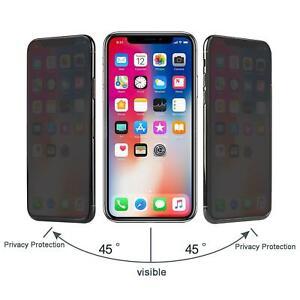 Para Apple IPHONE 7 8 X Nuevo Original Intimidad Anti Peek Vidrio Templado