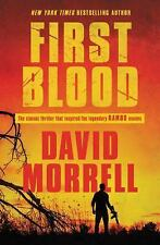 First Blood by David Morrell (2017, Trade Paperback)