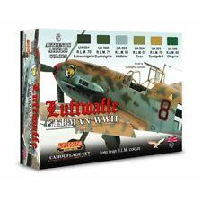 Lifecolor CS06 German WWII Luftwaffe Set 1 Camouflage 6 x 22 ml (100ml = 13,64€)