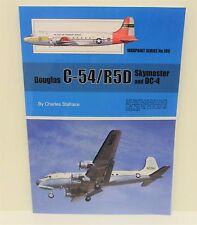 Warpaint Series No.109 - Douglas C-54/R5D Skymaster & DC-4             Book