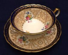 Vintage Cauldon China Hand Painted Cup and Saucer Set Made For Tiffany & Co