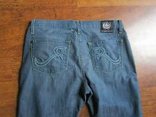 Rock & Republic Jeans Kasandra Size 29 Cotton Blend Inseam 33 Cut 2155 Light Low