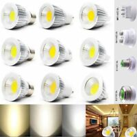 Hot Sale Ultra Bright MR16/GU10/E27/E14 CREE LED COB Spot Light Bulbs 6W/9W/12W