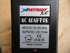 Patriot R/C  Power Supply DC1.25V 170MA Glow Plug RC For Model Car Noce