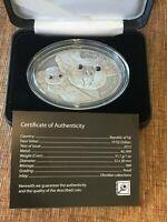 Fiji 2013 Fascinating Wildlife 3 Spectral Tarsier Maki $10 Silver Gemstone Eyes