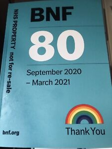 BNF 80 September 2020 - Brand New Book Unopened Pages Best Price Listed