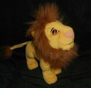 "9"" VINTAGE 1994 DISNEY THE LION KING ADULT SIMBA STUFFED ANIMAL PLUSH TOY LOVEY"