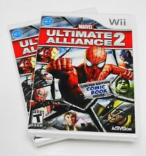 MARVEL ULTIMATE ALLIANCE 2 💥 (Nintendo Wii, 2009) BRAND NEW SEALED MINT 🕸️RARE