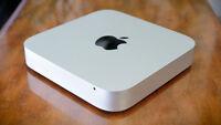 Apple Mac Mini Core i5 2.3 - 2.9 Ghz 16GB MEMORY RAM 250 GB SSD Hard Drive HDD
