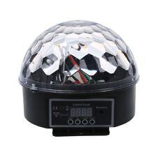 Disco DJ Lichteffekt Kugel LED RGB Licht DMX 512 RGB Beleuchtung Discokugel Y6H1
