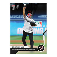 2020 Dr. Anthony Fauci - MLB TOPPS NOW® Card 2 - Print Run: 51512