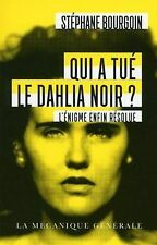 Qui a tué le Dahlia Noir ? - Poche von Bourgoin, Stephane   Buch   Zustand gut