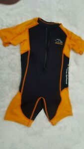 Aqua Sphere Stingray Water Wet Suit Youth Size 8 Nylon Swimming
