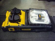 Dewalt DC022 Flourescent Worklight, GFCI Outlets Dual Port Battery Charger S-440