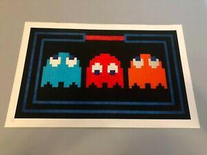Space Invader Art Poster Print L.E.D. Prisoners Banksy Brainwash Dolk Whatson
