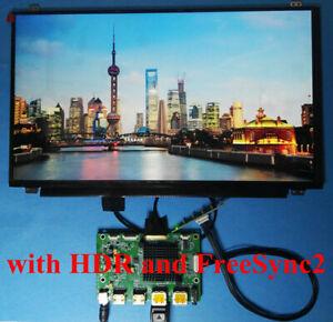 HDR HDMI DP Driver Board + 17.3inch 120Hz 2560x1440 LCD B173QTN01.0 B173QTN01.4