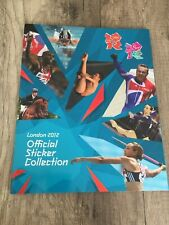 Panini London 2012 Olympic Games London Olympics Empty Album with Bale sticker