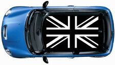 1set (4pcs) British Flag ROOF Vinyl Decal Graphic Mini cooper S JCW White Color